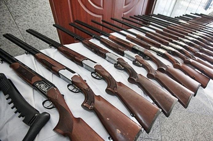 کشف 6قبضه سلاح شکاری غیرمجاز در علی آباد کتول