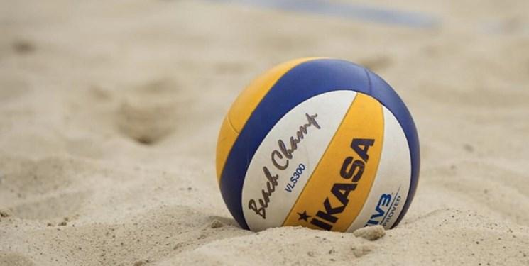 نماینده والیبال ساحلی گلستان پیروز میدان شد