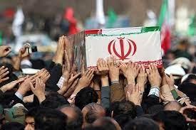 پیکر سرباز نیروی انتظامی گلستانی تشییع شد