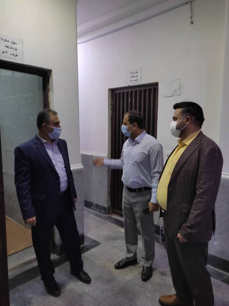 دادستان نظامی گلستان از پلیس آگاهی انتظامی استان بازدید کرد